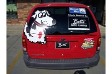 VL009 - Custom Vehicle Lettering for Non-Profits & Associations
