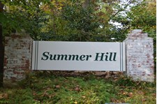 Carved Wooden Sign for Greater Summer Hill Neighborhood in Phoenix, MD